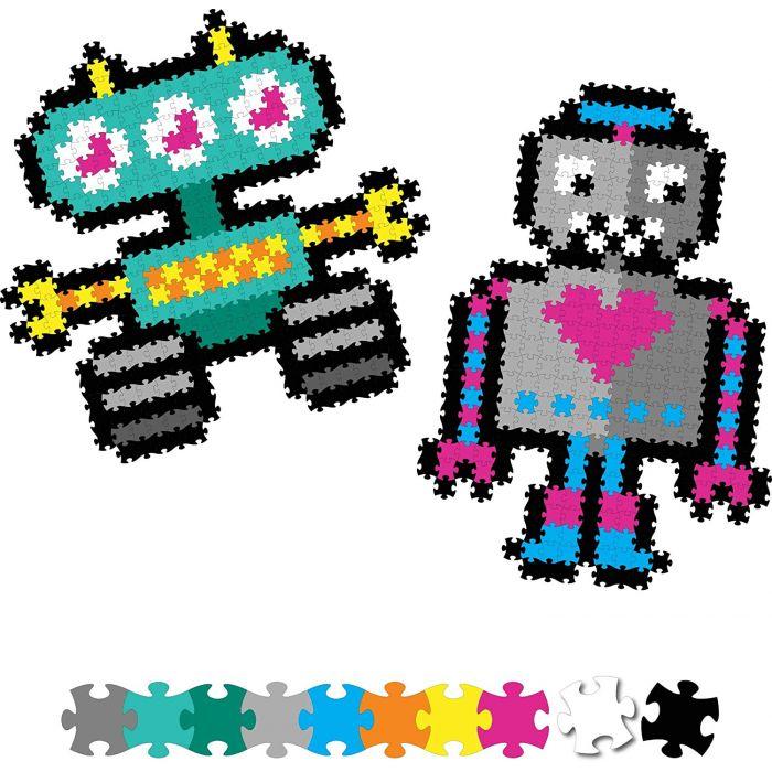 Jixelz 700pc Set - Roving Robots