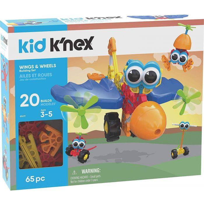 Kid K'Nex Wings & Wheels Building Set
