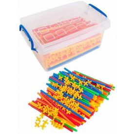 Straw Builders & Connectors Connecta Straws Tub - 800 Pieces
