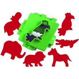Jungle Dough Cutter Cube - Multi Pattern