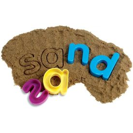 Sand Moulds - Lowercase Alphabet