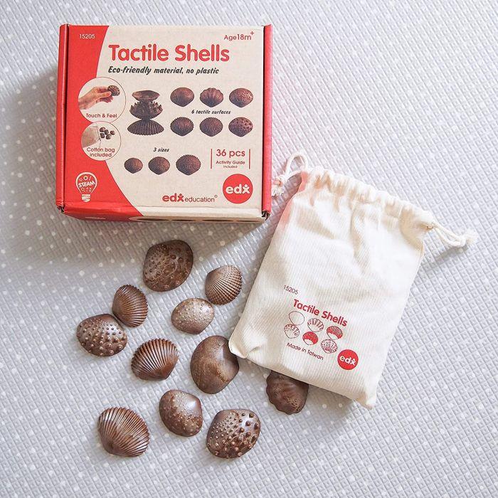 ECO Friendly Tactile Sea Shells