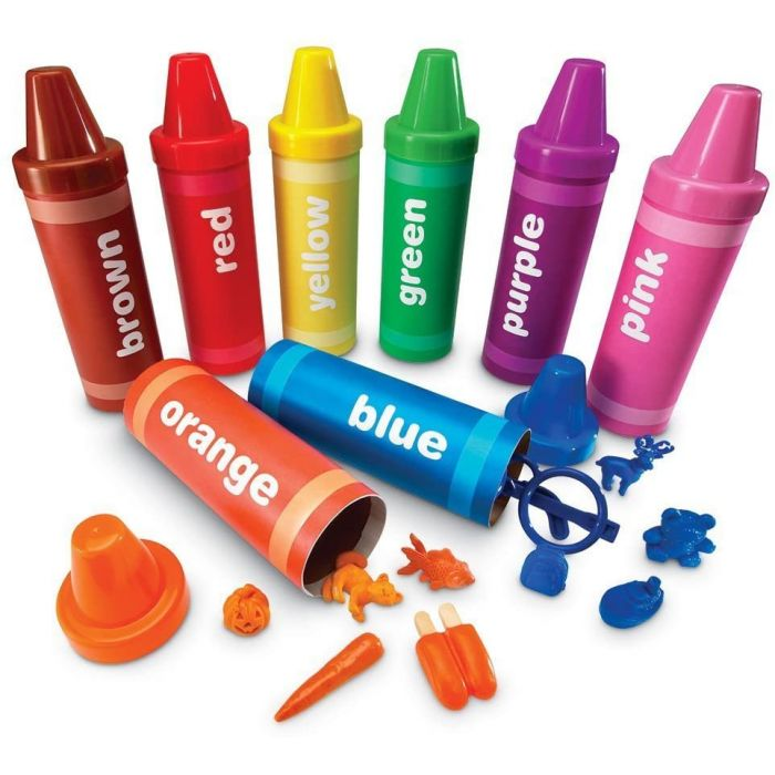 Learning Resources Rainbow Sorting Crayons