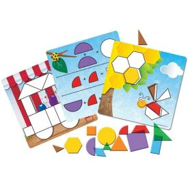 Learning Resources Shapes Don't Bug Me Geometry Activity Set