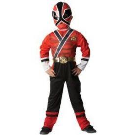 Power Rangers Red Samurai Costume