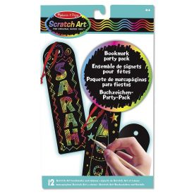 Melissa and Doug Scratch Art  Bookmark Party Pack
