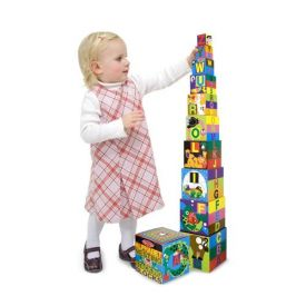 Melissa and Doug - English Alphabeth Nesting and Stacking Blocks