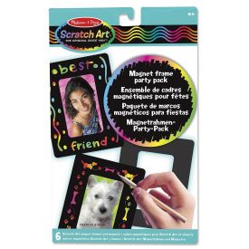 Melissa and Doug - Scratch Art - Magnetic Frame Party Pack