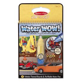 Water Wow -  Vehicle Themed Boards and Refillable Water Pen