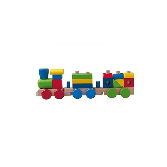 Melissa and Doug - Wooden Stacking Train
