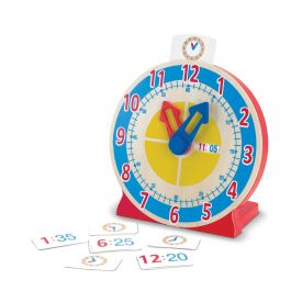 Melissa and Doug - Wooden Turn and Tell Clock