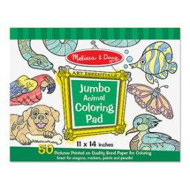 Melissa and Doug - Jumbo Animal Colouring Pad