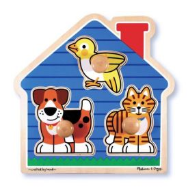 Melissa and Doug - House pets Large Peg Puzzle