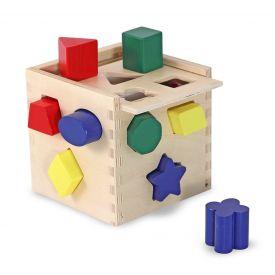 Melissa and Doug - Shape sorting cube