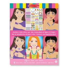 Melissa and Doug - Jewellery and Nails Sticker Pad
