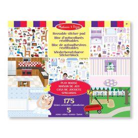 Melissa and Doug - Play House Reusable Sticker Pad