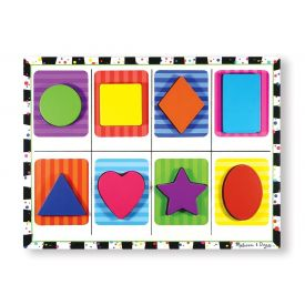 Melissa and Doug - Shapes Chunky Puzzle