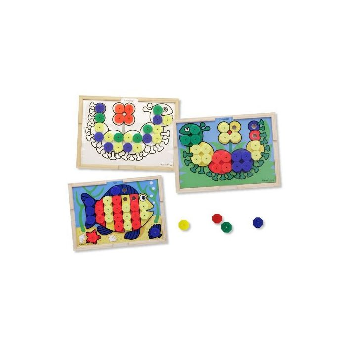 Melissa and Doug - Sort and Snap Colour Match