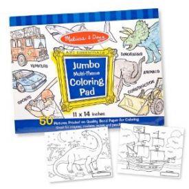Melissa and Doug - Jumbo Multi Theme Colouring  Pad