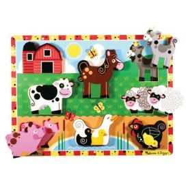 Melissa and Doug - Farm Chunky Puzzle