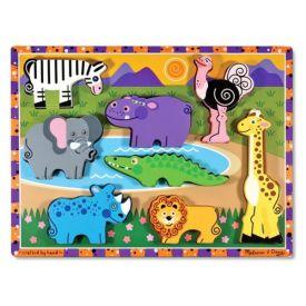 Melissa and Doug - Safari Chunky Puzzle