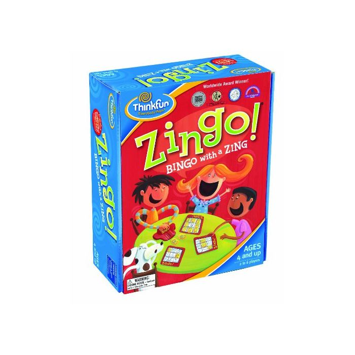 Thinkfun Zingo Bingo (Danish Version)