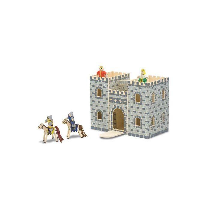 Melissa and Doug - Fold & Go Castle