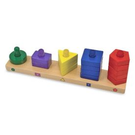 Melissa and Doug - Stack and Sort Board