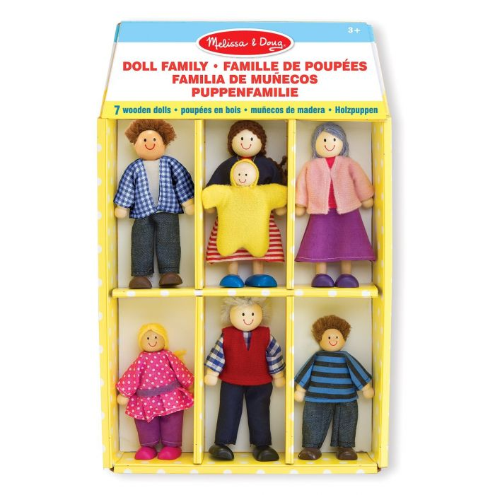 Melissa and Doug - Wooden Doll Family