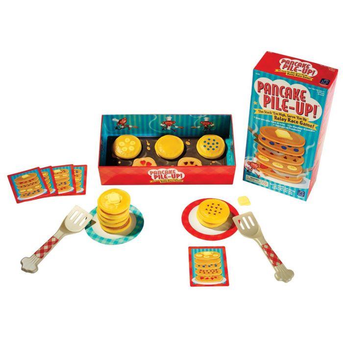 Pancake Pile-Up! Relay-Race Game