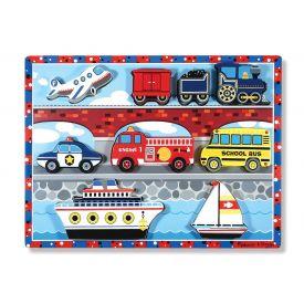 Melissa and Doug - Vehicles chunky Puzzle