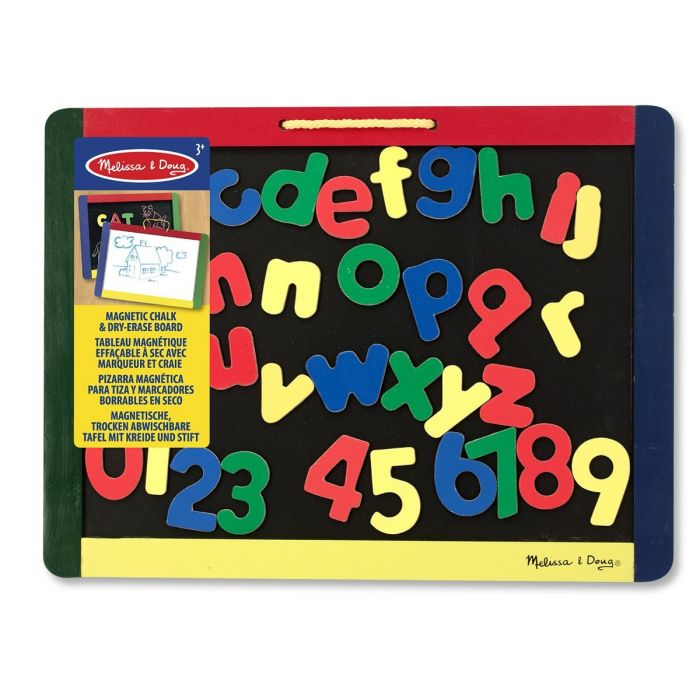 Melissa and Doug - Magnetic Chalk and Dry erase Board