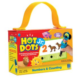 Hot Dots Jr Card Sets - Numbers and Counting