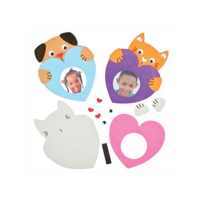 Heart Pet  photo Frame Magnet Kits