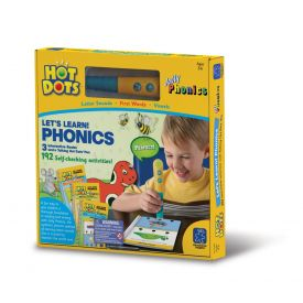 Hot Dots - Let's Learn Phonics - Interactive Books